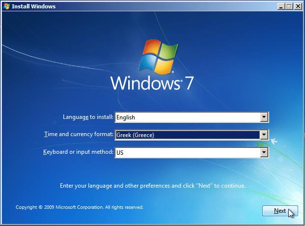 Εγκατάσταση Windows 7 για Αρχάριους - Οδηγός Format 05