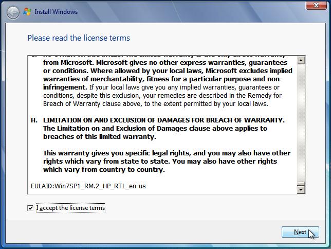 Εγκατάσταση Windows 7 για Αρχάριους - Οδηγός Format 07