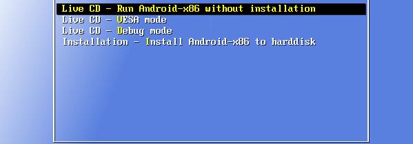Εγκατάσταση Android σε PC με το Android-x86 03