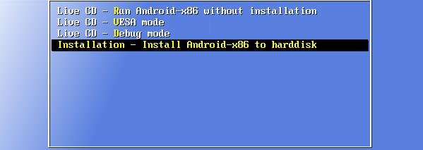 Εγκατάσταση Android σε PC με το Android-x86 26