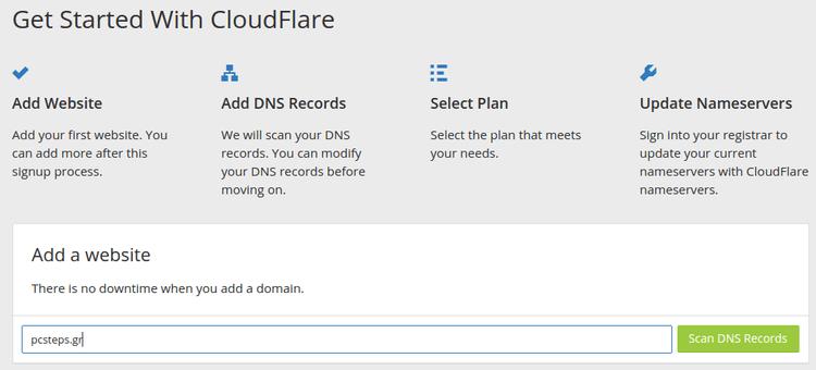 Πιο Γρήγορο Site Πιο Ασφαλές Site Δωρεάν με το CloudFlare 08