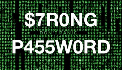 ισχυρό password λάθη κίνδυνοι ασφάλεια 13