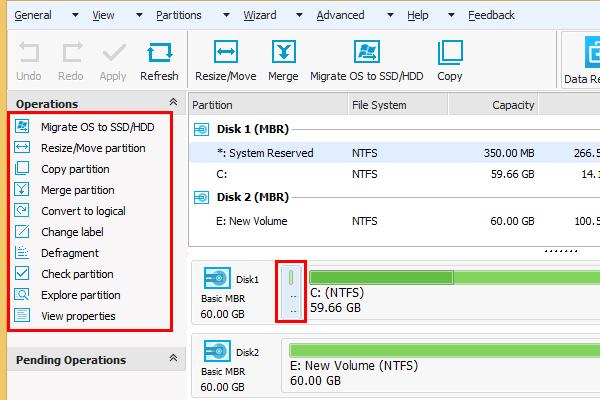 Πλήρης Διαχείριση Δίσκου με το Easeus Partition Master 09