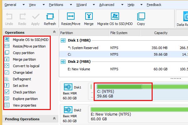 Πλήρης Διαχείριση Δίσκου με το Easeus Partition Master 10