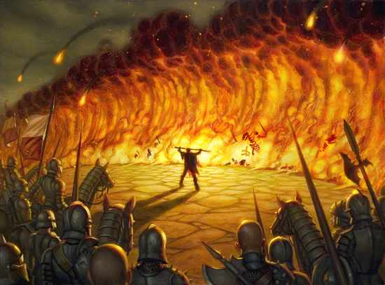 1.Wall-of-fire
