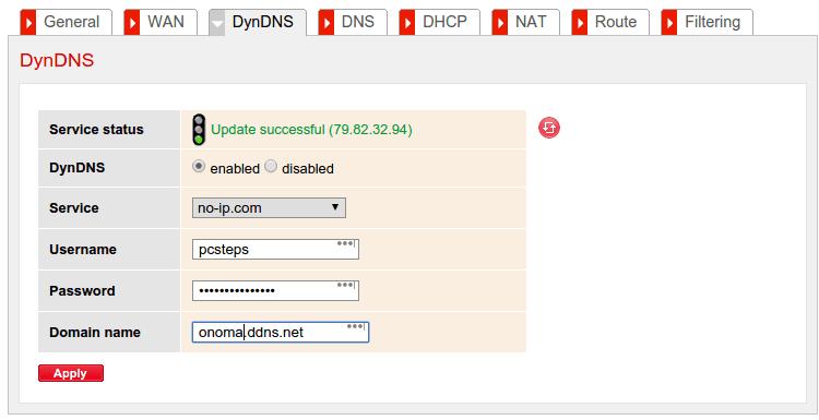Δωρεάν Στατική IP στο Internet με Dynamic DNS NoIP DynDNS 05c