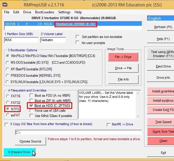 windows 7 σε εξωτερικό δίσκο 02