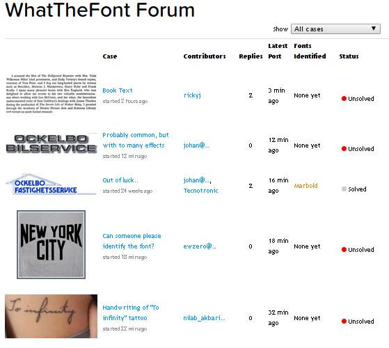 εύρεση γραμματοσειράς στο Internet 16