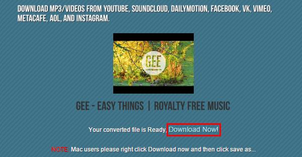 κατέβασμα τραγουδιών από YouTube σε Mp3 (320Kbps) 03