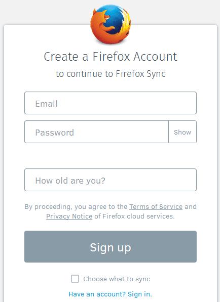 Πώς να κάνω backup και επαναφορά τις Ρυθμίσεις Chrome και Ρυθμίσεις Firefox 12