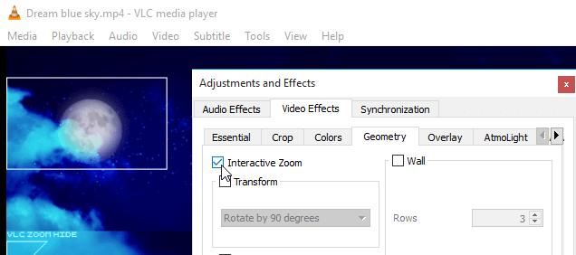 Zoom σε Video καθώς παίζει - Μια Κρυφή Δυνατότητα του VLC 08