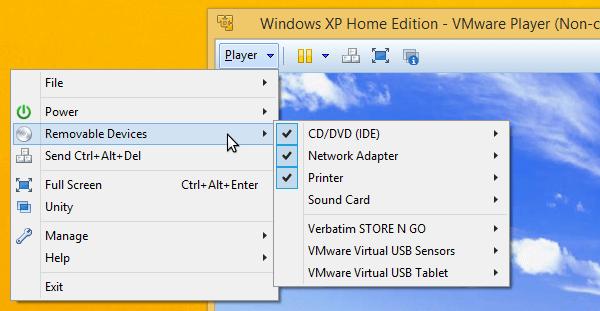 xp σε windows 8 100