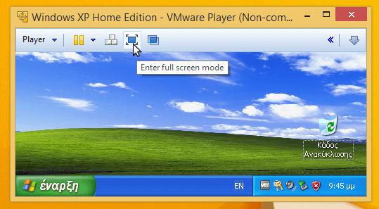 xp σε windows 8 16