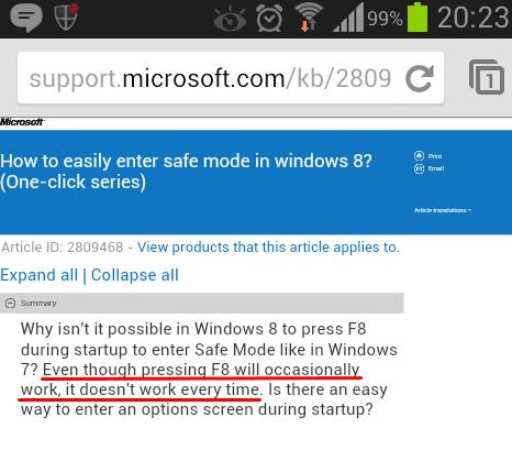 ασφαλής λειτουργία windows 7 8 μυστικά 10