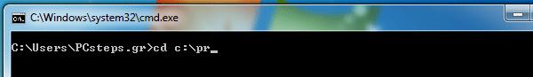 γραμμή εντολών windows 7 windows 8 21