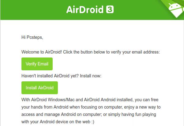Διαχείριση Android Κινητού και Tablet Μέσω Internet από τον Υπολογιστή AirDroid 05ca