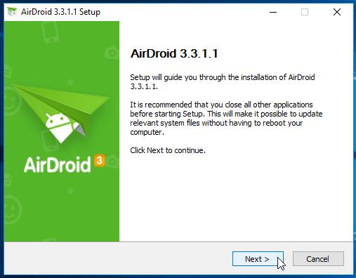 Διαχείριση Android Κινητού και Tablet Μέσω Internet από τον Υπολογιστή AirDroid 12