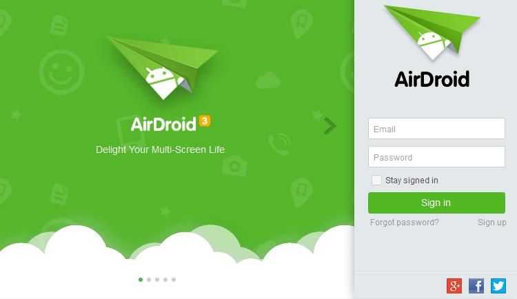 Διαχείριση Android Κινητού και Tablet Μέσω Internet από τον Υπολογιστή AirDroid 14