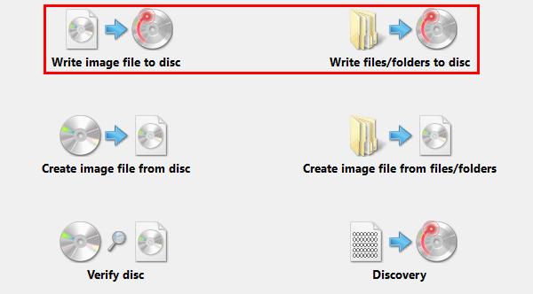 εγγραφή CD , DVD, blu-ray δωρεάν πρόγραμμα προγράμματα 05