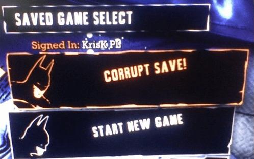 saves παιχνιδιών - πώς να τα σώσουμε πριν από format 01