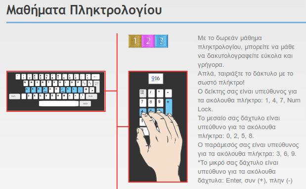 Πώς να Μάθω Τυφλό Σύστημα Πληκτρολόγησης στα Ελληνικά Δωρεάν 13
