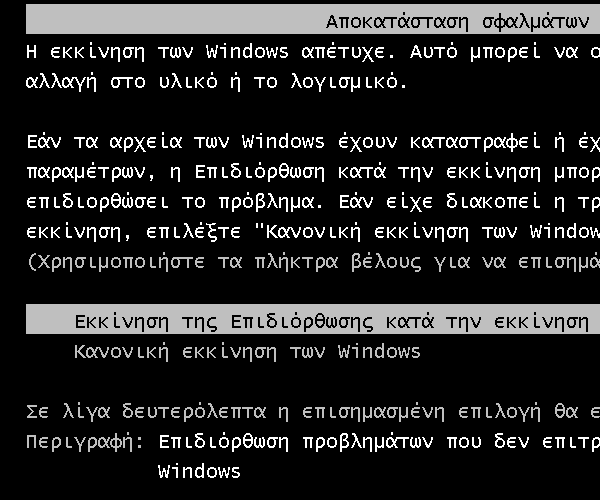 αρχεία εκκίνησης windows 7 - 8 - ποια είναι τα απαραίτητα 15