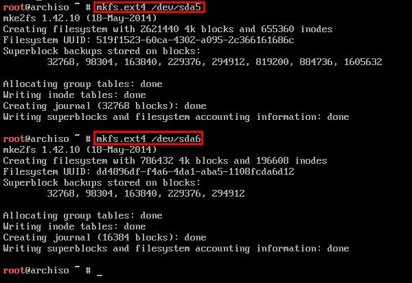 εγκατάσταση arch linux για προχωρημένους 22