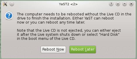 εγκατάσταση opensuse linux 16