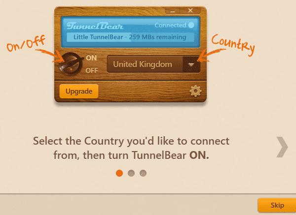 Αλλαγή IP Εύκολα και Γρήγορα με το TunnelΒear 06