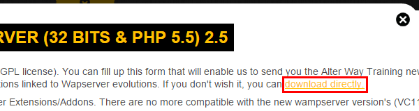 εγκατάσταση wamp δημιουργία site τοπικά στο pc 05