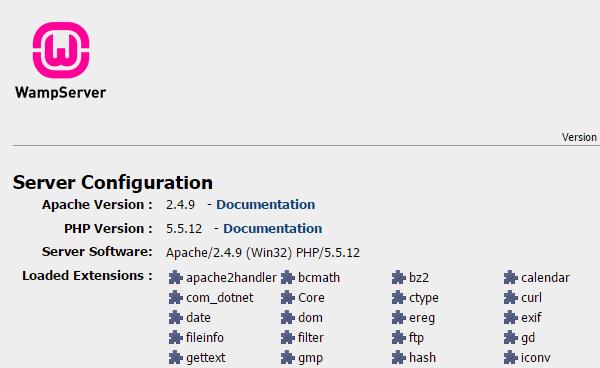 εγκατάσταση wamp δημιουργία site τοπικά στο pc 16b