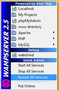 εγκατάσταση wamp δημιουργία site τοπικά στο pc 18