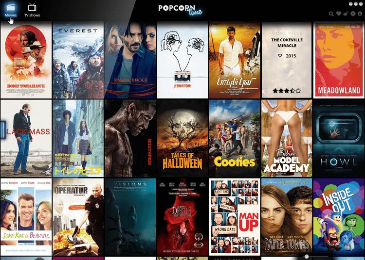 Ταινίες από το Internet Δωρεάν με το PopCorn Time 04
