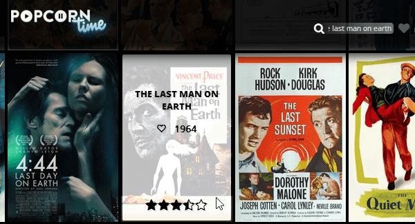 Ταινίες από το Internet Δωρεάν με το PopCorn Time 06