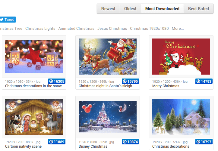 Χριστουγεννιάτικα Wallpapers για PC - Κινητό - Tablet 29