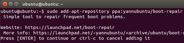 Επιδιόρθωση Ubuntu - Linux Mint από Format και επανεγκατάσταση Windows 04