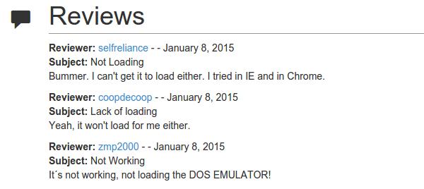 2300 δωρεάν παιχνίδια MS-DOS στον Browser μας 10a