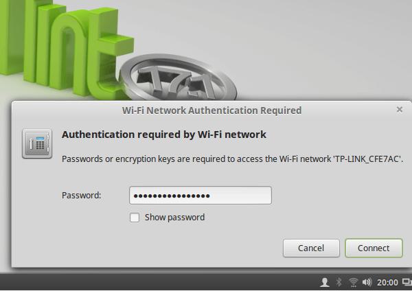 e-Banking με Ασφάλεια - Linux Mint Live USB με Persistence 11