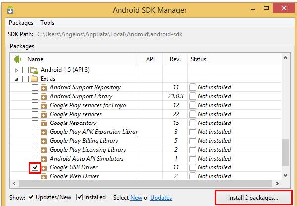 εγκατάσταση Android Debug Bridge 09