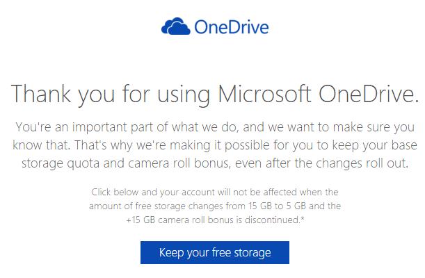 OneDrive - Κρατήστε τα 15GB Δωρεάν, Δηλώνοντάς το 01