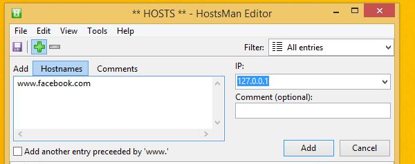 μπλοκάρισμα Ιστοσελίδων σε όλους τους Browsers 10