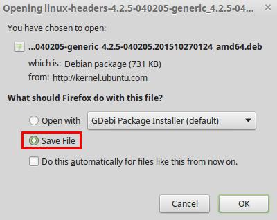 Αναβάθμιση Kernel 4.2.5 σε Linux Mint - Ubuntu 06
