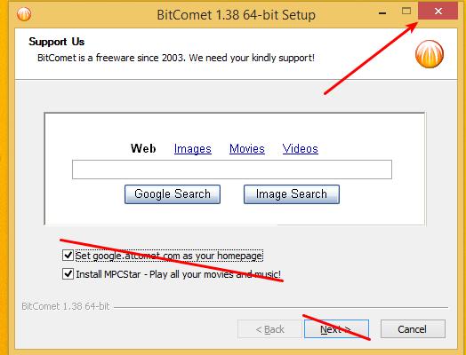 ταχύτερο κατέβασμα αρχείων - torrents με το bitcomet 03