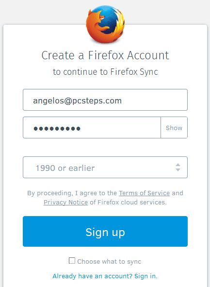 Επαναφορά Browser Επαναφορά Chrome Επαναφορά Firefox για την επίλυση προβλημάτων 07