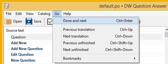 Μετάφραση WordPress Plugin στα Ελληνικά με το Poedit 11