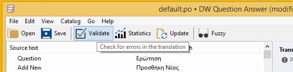 Μετάφραση WordPress Plugin στα Ελληνικά με το Poedit 20