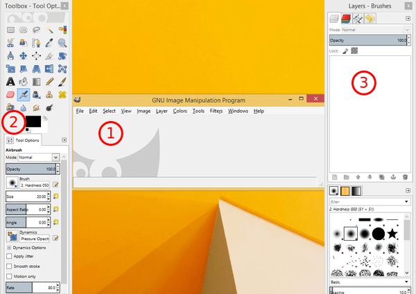 GIMP Ένα δωρεάν Photoshop για Windows και Linux 04