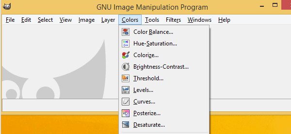 GIMP Ένα δωρεάν Photoshop για Windows και Linux 05