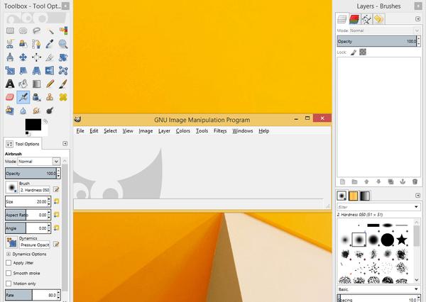 GIMP Πώς να Φαίνεται και να Λειτουργεί Σαν το Photoshop Μετατροπή 05