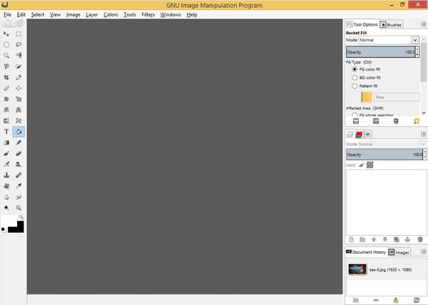 GIMP Πώς να Φαίνεται και να Λειτουργεί Σαν το Photoshop Μετατροπή 06